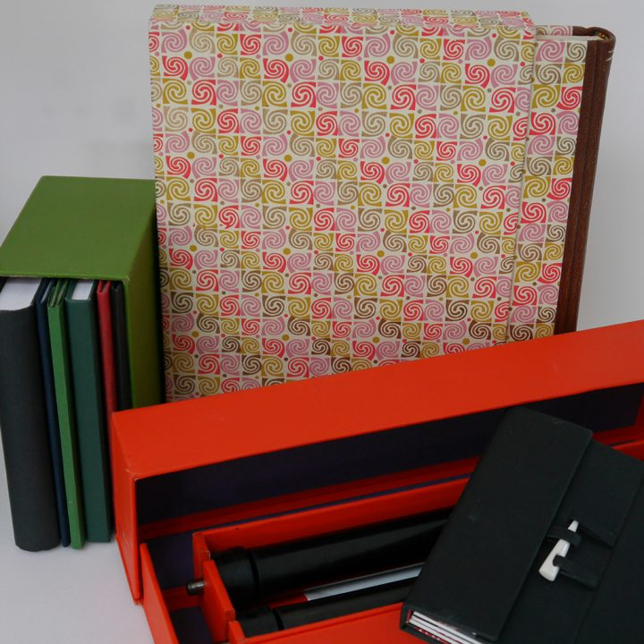 Selection of slipcases and boxes